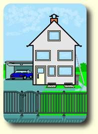 sicherheitstechnik einbruchschutz au enbereich absichern. Black Bedroom Furniture Sets. Home Design Ideas