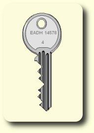 Einzelschlüssel