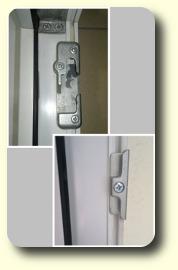 Fenster-Schließbleche