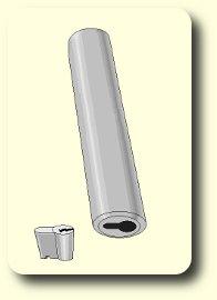 Zylinder Knackrohr